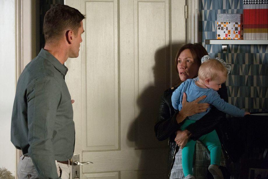 Jack catches Rainie Branning in EastEnders