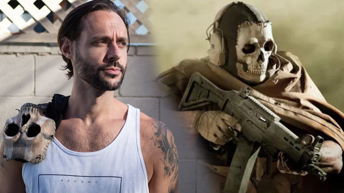 Actor behind Call of Duty's Ghost streams as Ghost now and no-one believes him