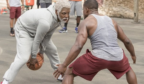 Uncle Drew Kyrie Irving Drew prepares to play a youngster