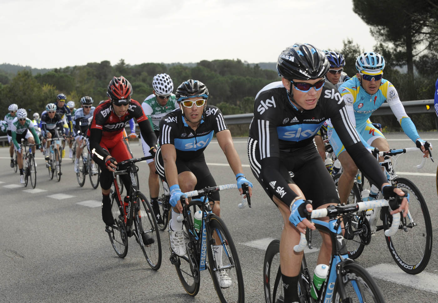 Chris Froome, Volta a Catalunya 2011 stage two