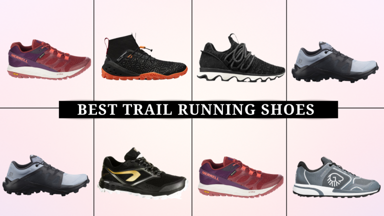 grid of best trail running shoes for women