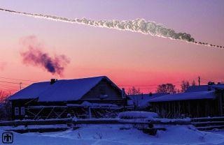 Asteroid Explodes Near Chelyabinsk, Russia on Feb. 15 2013