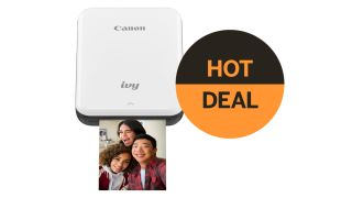 Save 23% on the Canon IVY Mini Photo Printer – perfect for entertaining kids
