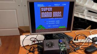 Raspberry Pi Pico Emulating an NES