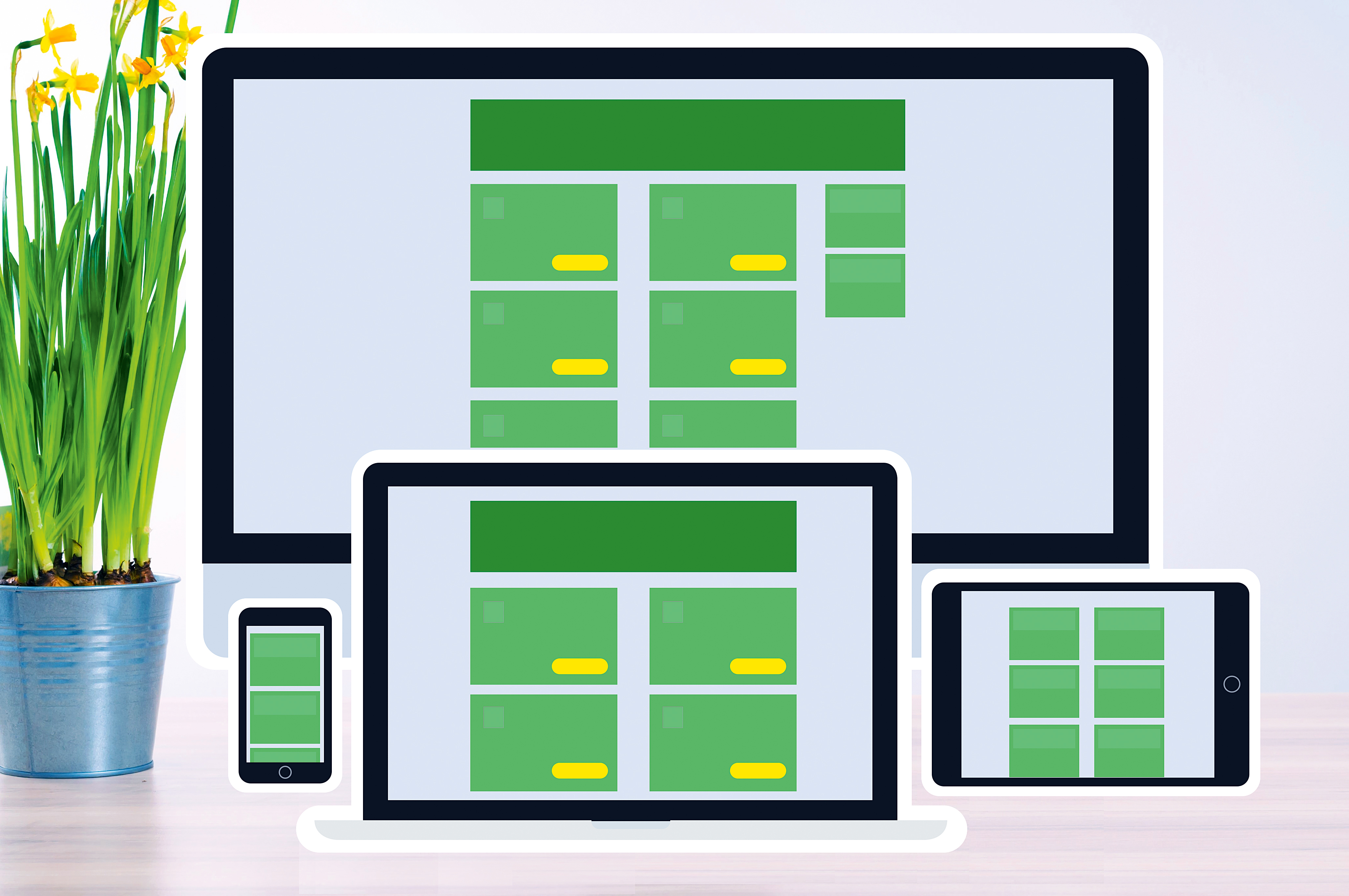 How to make responsive web apps with container queries