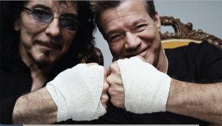 Tony Iommi (left) and Eddie Van Halen