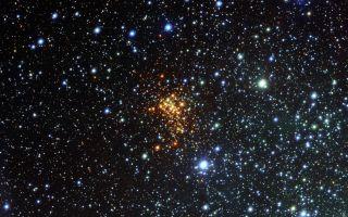 Westerlund 1 Star Cluster