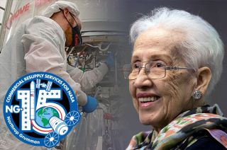 "Northrop Grumman's NG-15 Cygnus cargo ship has been named the ""S.S. Katherine Johnson"" in honor of the NASA mathematician and former ""hidden figure."""