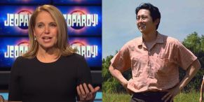 Katie Couric Shares Tribute To Steven Yeun After Historic Oscar Nod, But She's Also Making History On Jeopardy