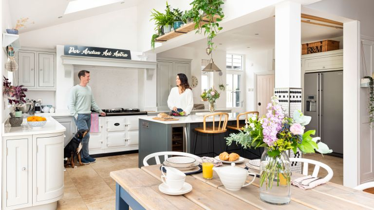 Jen and Miles Rothbury's home owes its uniqueness to the couple's creative talents