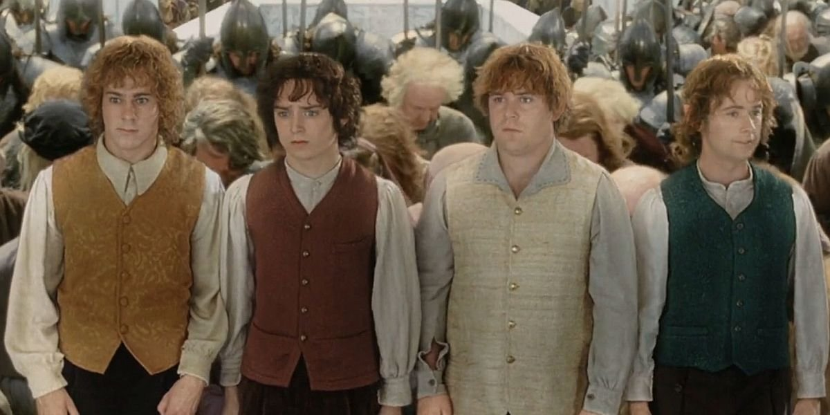 The Hobbits in Lord of the Rings The Return of the King