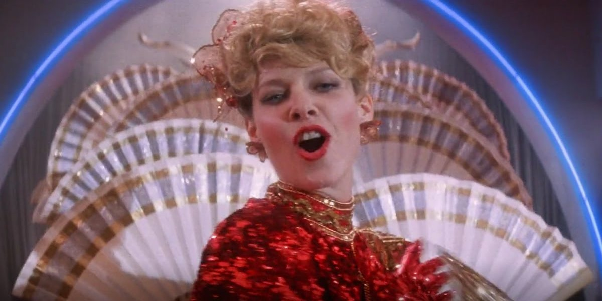 Kate Capshaw singing in Indiana Jones and the Temple of Doom