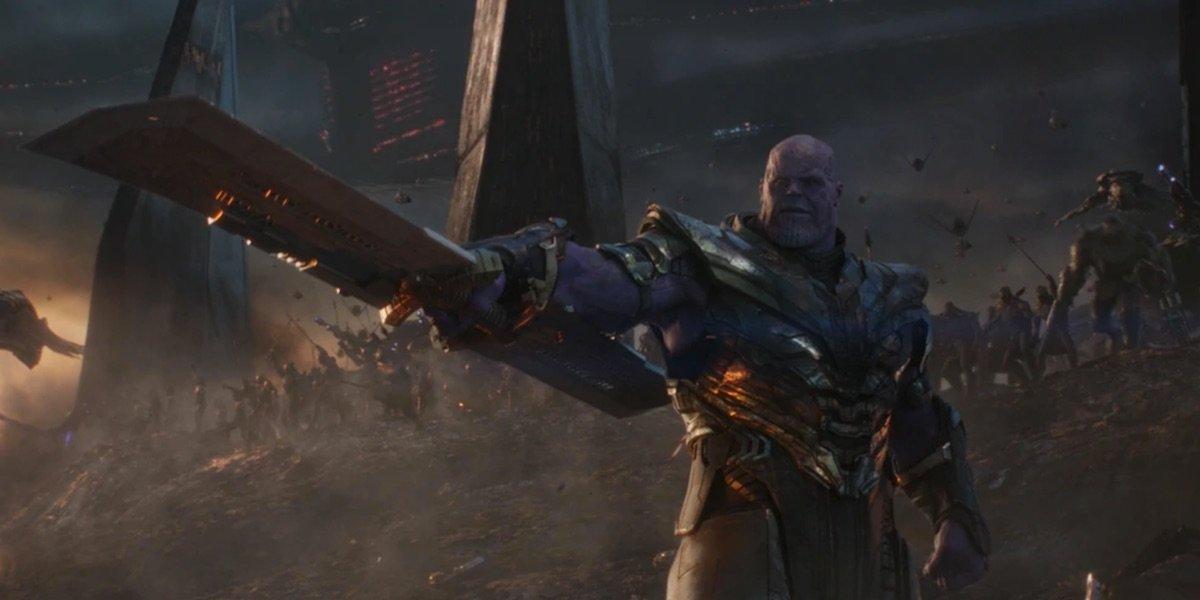 Yes, Thanos' Endgame Sword Is Stronger Than Vibranium - CINEMABLEND