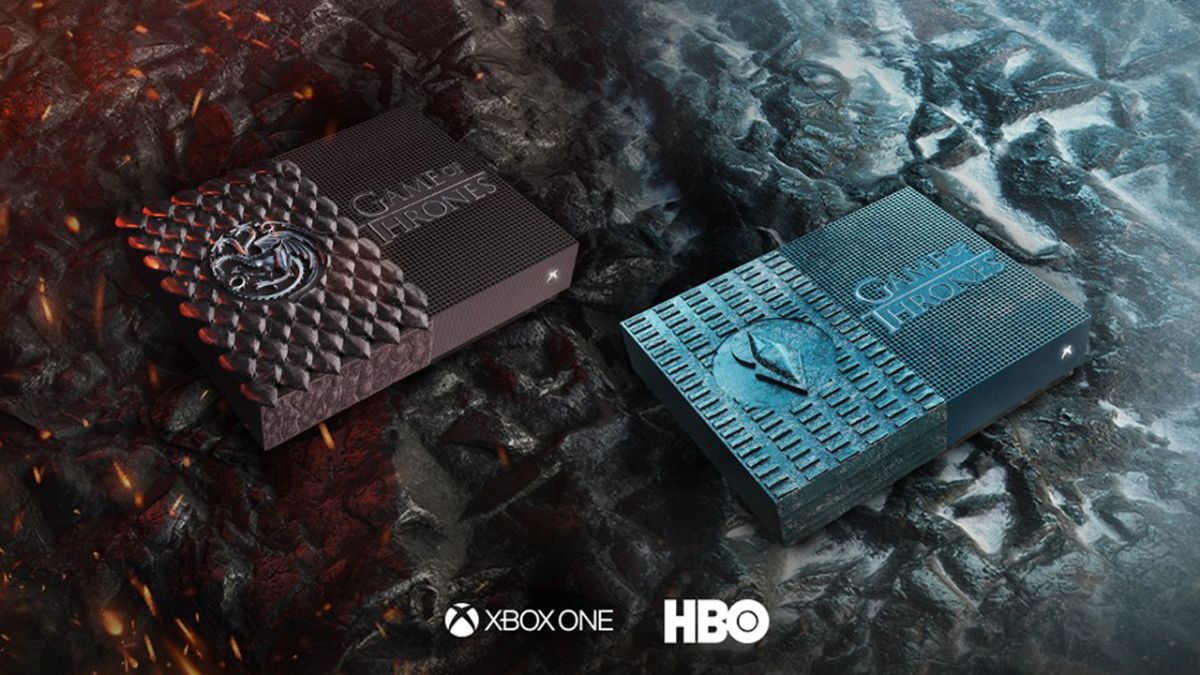 A song of fire, ice, and    a custom Game of Thrones Xbox