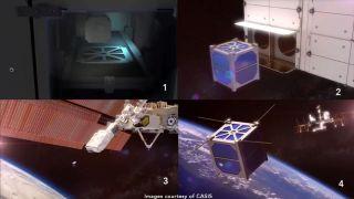 'Stash & Deploy' Cubesat Service