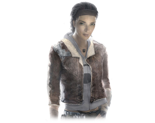 Best character designs in games: Alyx Vance