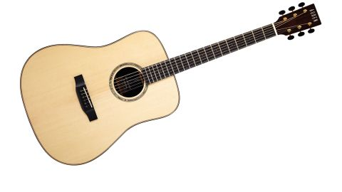 Auden takes a very traditional approach to its acoustic guitar construction