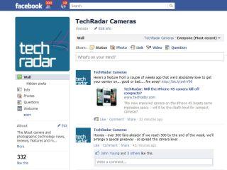 TechRadar Cameras Facebook page