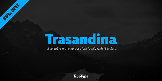 Font of the day: Trasandina