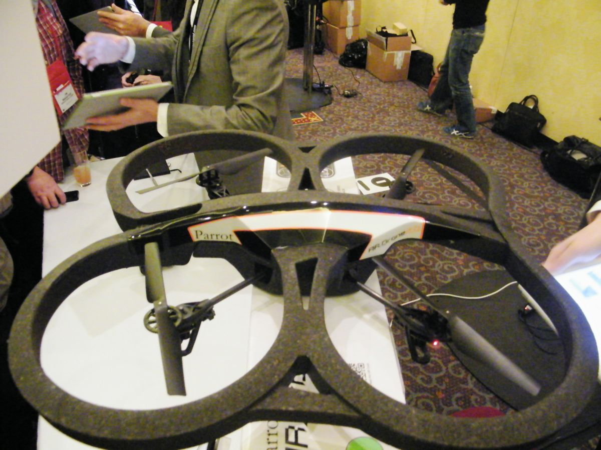 In pictures: Parrot AR.Drone 2.0   TechRadar