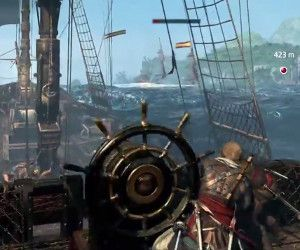 Sea to land in Assassin's Creed IV: Black Flag fort siege video