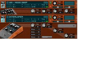 The Kontakt 2 version of Circuit30 in all its Moog-inspired retro glory