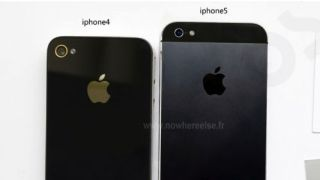 iPhone 4 and iPhone 5 compared