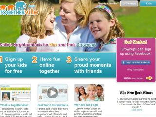 Teach kids the basics of safe social networking with Togetherville