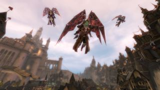 Tyria Gliding Guild Wars 2