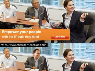 Microsoft in embarrassing Photoshop FAIL advertising debacle in Poland