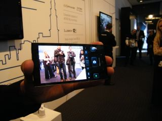 Panasonic shows off smartphone-controlled camera tech