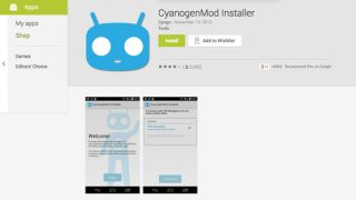 CyanogenMod Google Play