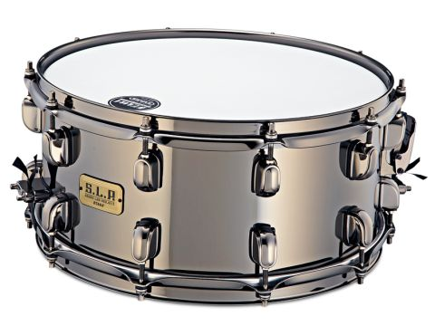 Tama's Black Brass SLP snare is one bruiser of a drum.