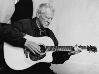 Doc Watson pictured in 2007