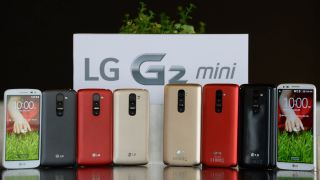 Has the LG G2 Mini been revealed before MWC?