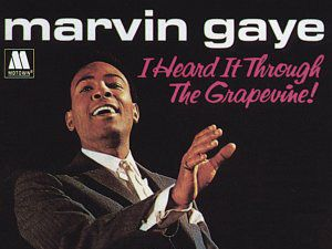 We heard through the grapevine that Marvin has topped the list