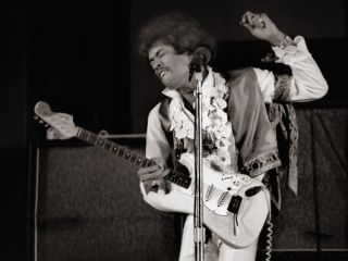 The incredible career of Jimi Hendrix is presented in his own words in the book, Hendrix On Hendrix