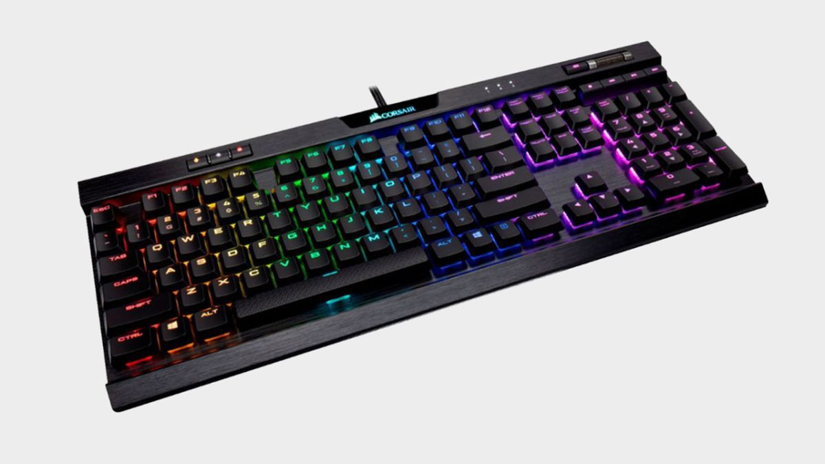 Gear up before Black Friday at Best Buy with this deal on a low-profile Corsair gaming keyboard