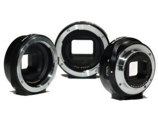 Canon EF lens to Sony NEX Smart Adaptor launched