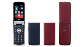 LG Wine Smart is an Android powered flip phone nostalgia trip