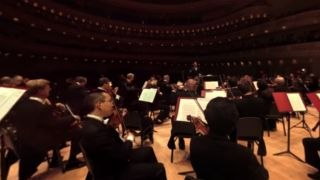 The Philadelphia Orchestra plays in full 360-degree view