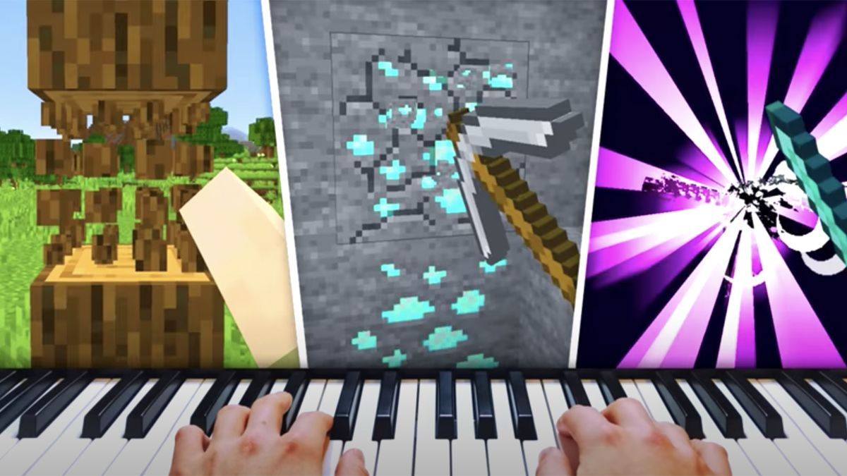 "Man beats Minecraft using his MIDI keyboard as a controller, creating a ""nightmare"" piano soundtrack"