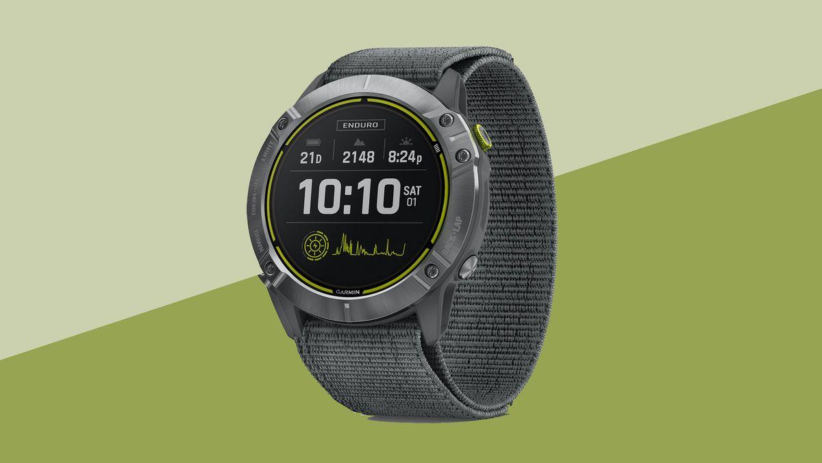 Garmin Enduro review: the ultimate running watch