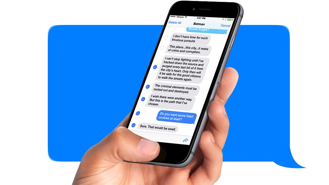 How to forward text messages on iPhone | TechRadar