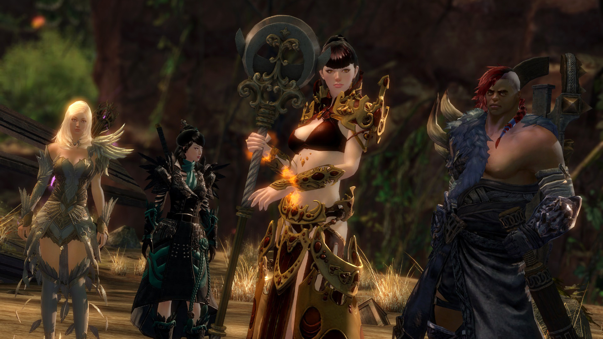 Guild Wars 2 Heart Of Thorns Hands On Entering The Jungle Page