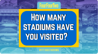 How many of the top 100 football stadiums have you visited?