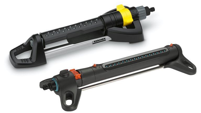 Kärcher Premium Oscillating Sprinkler OS 5.320SV vs Gardena AquaZoom