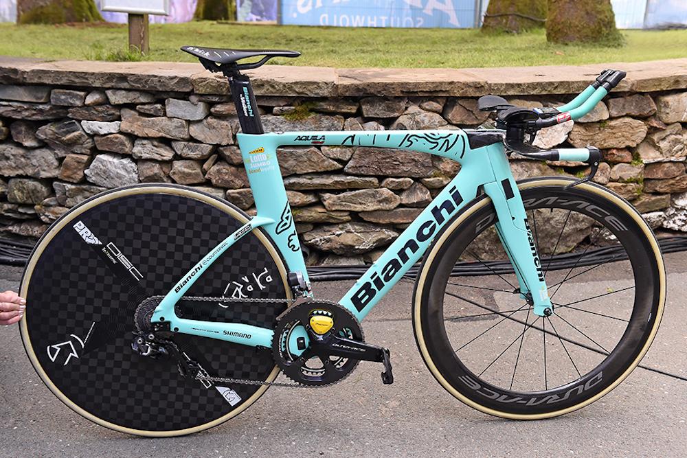 primo u017e rogli u010d u2019s bianchi aquila cv time trial bike