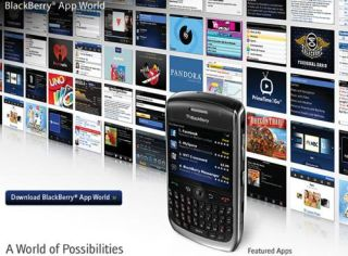 The BlackBerry App World shop is live
