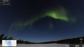 Google Maps Aurora Borealis Northern Lights